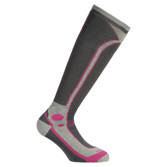 T3 Ski Midweight - Women's Cushioned Ski Socks