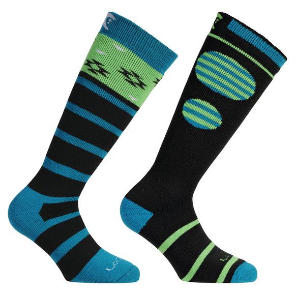 Ski-Snowboard Merino - Men's Cushioned Ski Socks