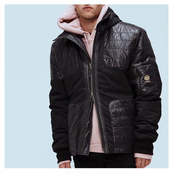 Carbone - Manteau d'hiver pour homme