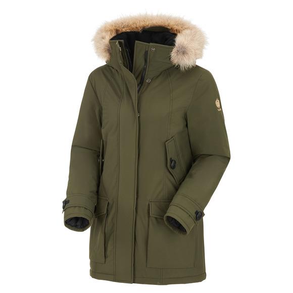 Boréal - Manteau d'hiver à capuchon pour femme