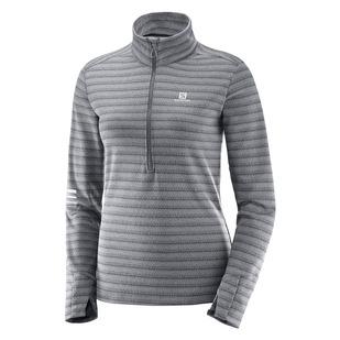 Lightning HZ - Women's Half-Zip Long-Sleeved Shirt