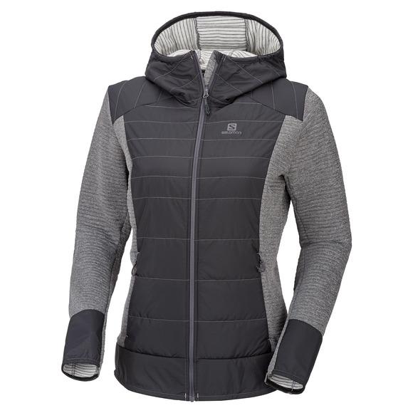Right Nice Hybrid - Manteau à capuchon pour femme