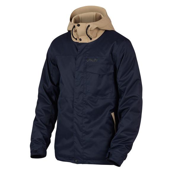 Division BioZone - Manteau à capuchon pour homme