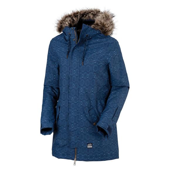 PW Cluster II - Manteau à capuchon pour femme