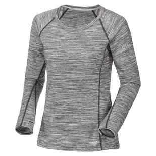 Heathered - Women's Long-Sleeved Shirt