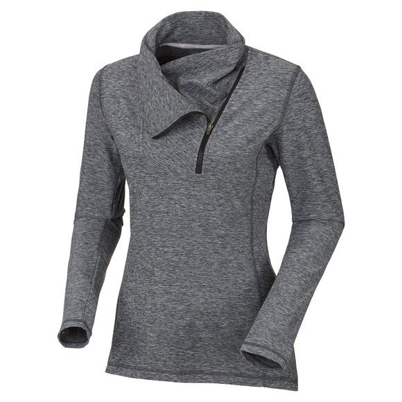 Space Dye - Women's Half-Zip Sweater