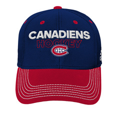 Structured Flex Team Players Jr - Casquette extensible pour junior - Canadiens de Montréal