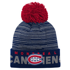 Cuffed Jr - Tuque with Pompom - Montreal Canadiens