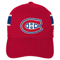 Structured Flex Draft Jr - Casquette extensible pour junior - Canadiens de Montréal