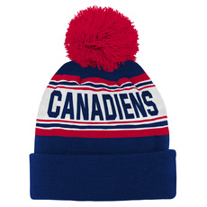Cuffed Pom Jr - Junior Tuque