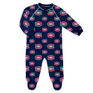 Team Print Raglan Zip - Babies' Pyjama