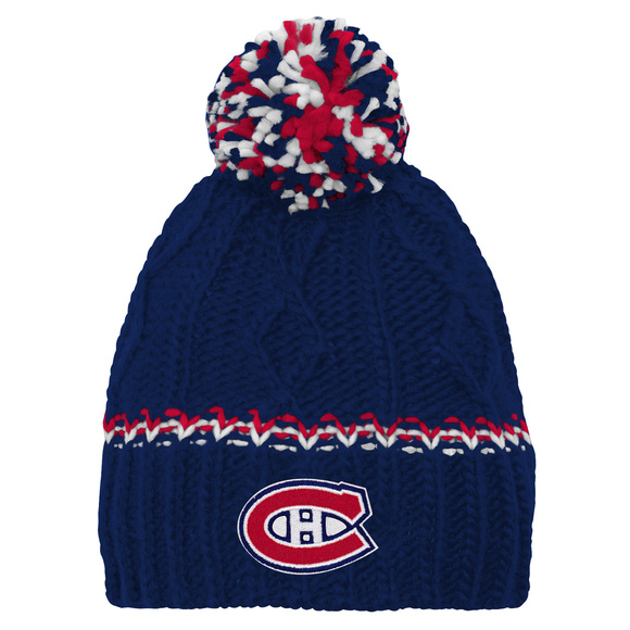 Cable Knit Rib Cuffless Jr - Tuque pour junior
