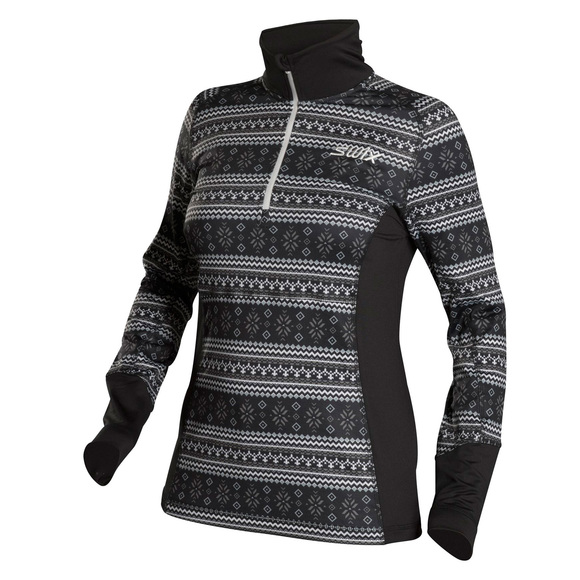 Myrene - Women's Half-Zip Sweater