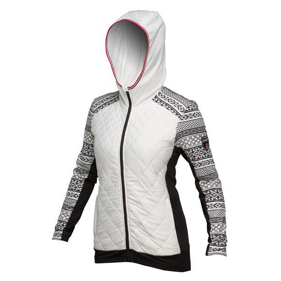 Myrene - Women's Quilted Full-Zip Hoodie