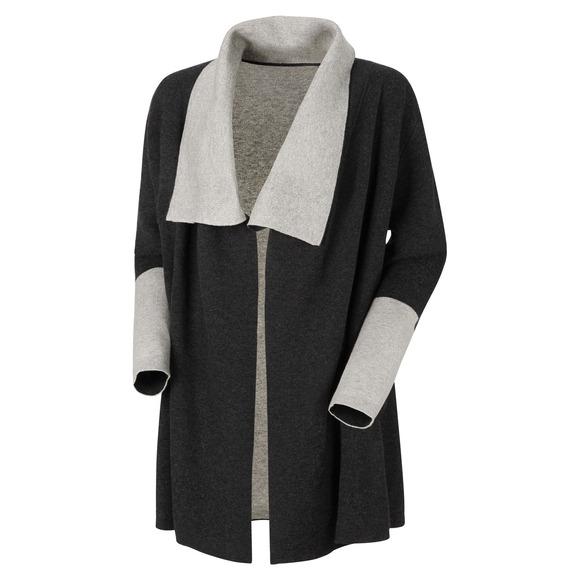 All Season - Cardigan réversible en tricot pour femme