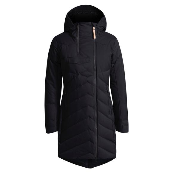 Ayaba - Manteau à capuchon en duvet