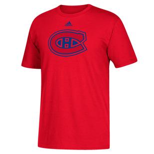 Crest - T-shirt pour homme - Canadiens de Montréal