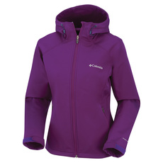 Alpine Night - Manteau softshell à capuchon pour femme