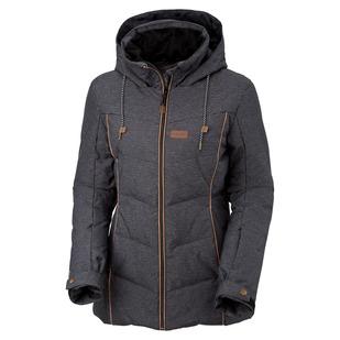 Fury - Manteau à capuchon en duvet pour femme