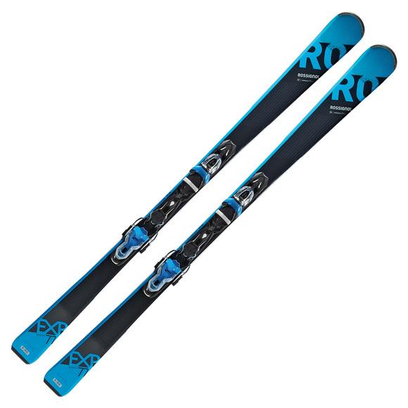 Experience 77 Basalt/Xpress 11 - Skis alpins tout-terrain pour homme