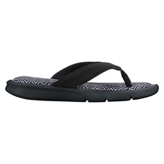 Ultra Comfort Thong Print - Sandales pour femme