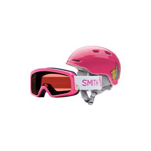 Rascal/Zoom Combo Jr - Ensemble de casque de sports d'hiver et lunettes pour junior
