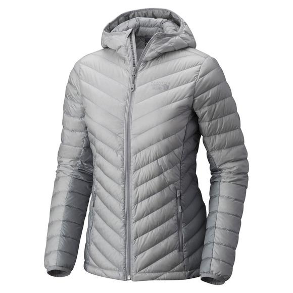 Micro Ratio - Manteau à capuchon en duvet pour femme