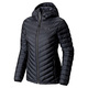 Micro Ratio - Women's Hooded Down Jacket  - 0