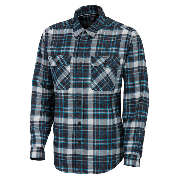 Performance Flannel Plaid - Men's Long-Sleeved Shirt