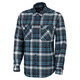 Performance Flannel Plaid - Men's Long-Sleeved Shirt  - 0