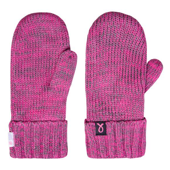 Mitaines en tricot pour femme - Pour soutenir la Fondation du cancer du sein