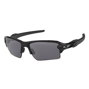 Flak 2.0 XL Polished Black Prizm Black Iridium Polarized - Lunettes de soleil pour adulte