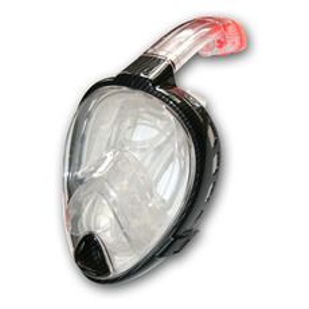Full Face - Masque de plongée avec tuba intégré pour adulte