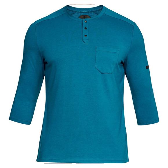 Unstoppable - Men's 3/4-Sleeved Henley Shirt