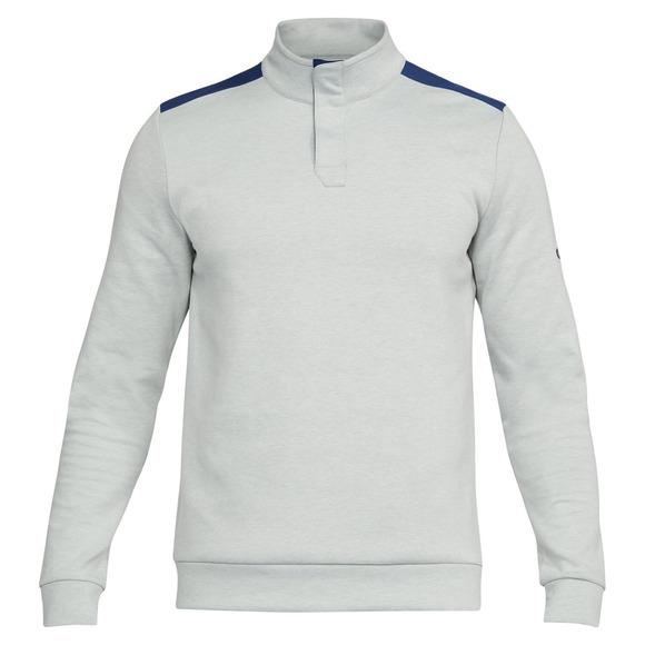 Unstoppable Henley - Men's Half-Zip Sweater