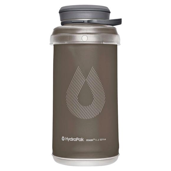 Stash - Bouteille compressible à grand goulot (1 litre)