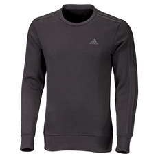 Essentials 3-Stripes - Men's Fleece Crewneck