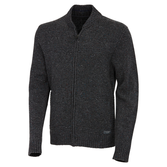 First Fleet - Men's Full-Zip Knitted Sweater