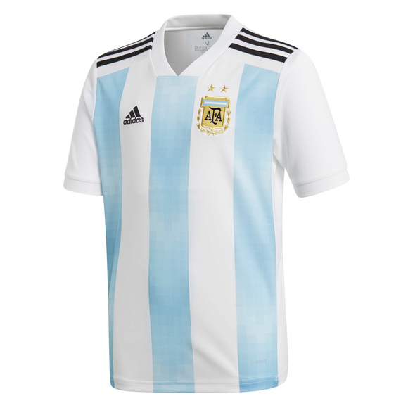 Russia 2018 - Argentina (Home) - Junior Replica Jersey