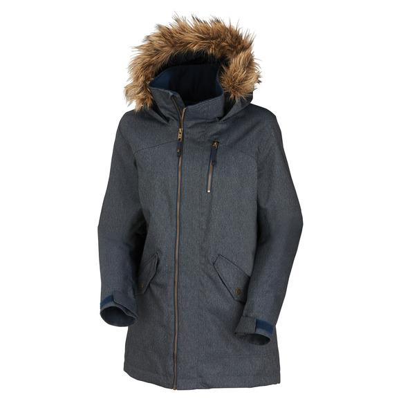 Hazel Living Lining - Manteau à capuchon pour femme