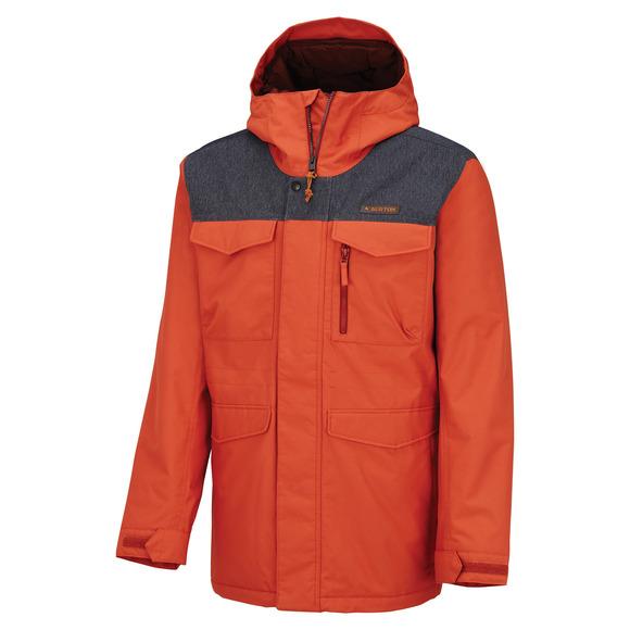 Covert Living Lining - Men's Hooded Jacket