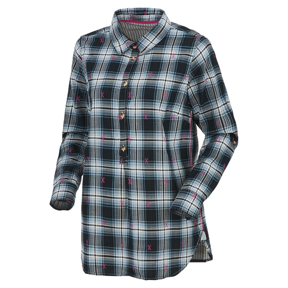 Plaid - Women's Popover Shirt
