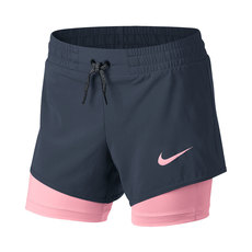 2 in 1 Jr - Girls' Running Shorts