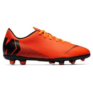 Mercurial Vapor XII Club MG Jr - Junior Outdoor Soccer Shoes