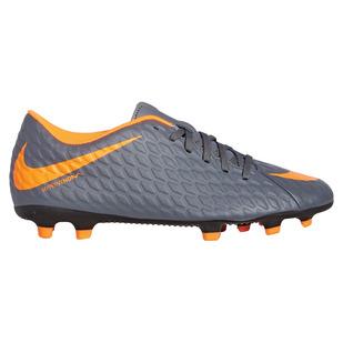 Hypervenom Phantom 3 Club FG - Chaussures de soccer extérieur pour adulte