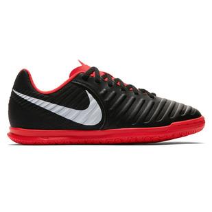 Tiempo LegendX VII Club IC Jr - Chaussures de soccer intérieur pour junior