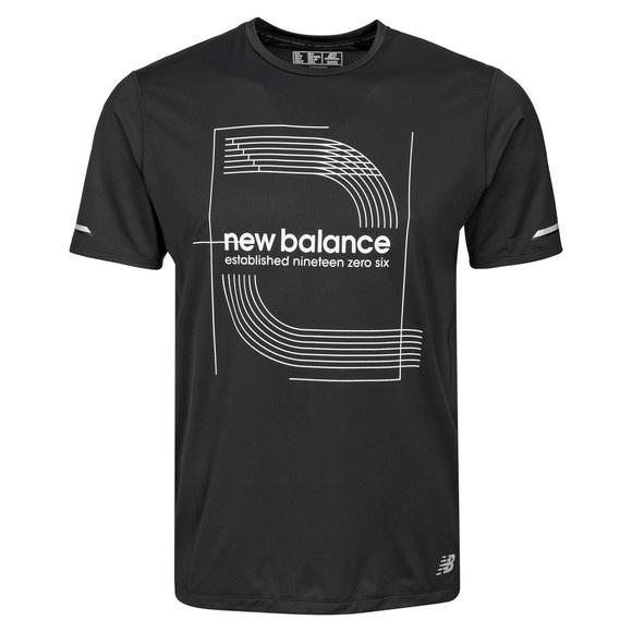 Printed Ice 2.0 - T-shirt de course pour homme