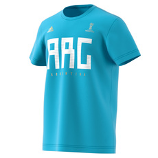 Russie 2018 - Argentine - T-shirt de soccer pour homme