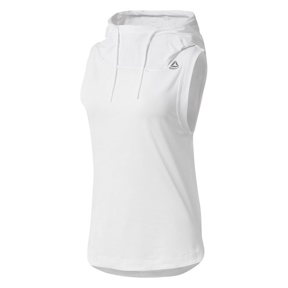 Workout Ready - Women's Sleeveless Hoodie