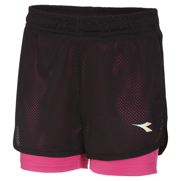 Dual - Girls' 2-in-1 Shorts